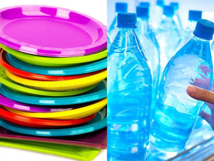 Plastic side effects: These diseases caused by the use of plastic plates and bottles, Sr. Dr. asked to leave immediately
